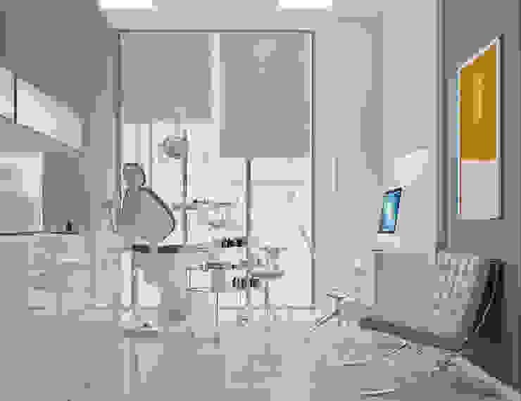 Дизайн стоматологической клиники в Баку Кабинеты врачей в стиле модерн от ILKIN GURBANOV Studio Модерн