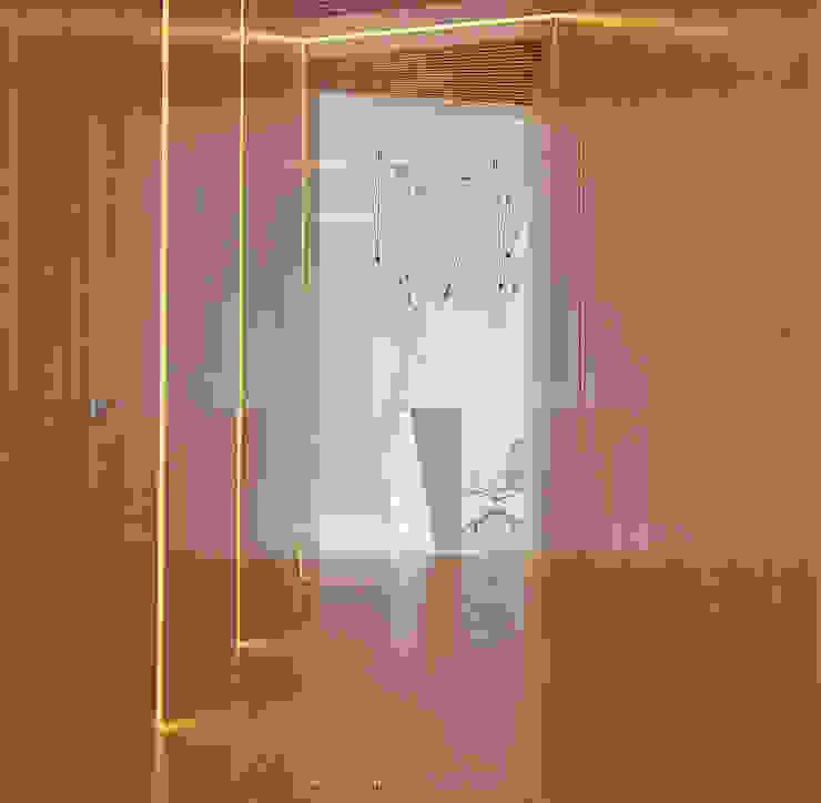 Дизайн стоматологической клиники в Баку Коридор, прихожая и лестница в модерн стиле от ILKIN GURBANOV Studio Модерн