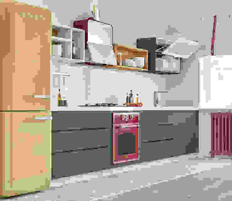 Modern kitchen by ILKIN GURBANOV Studio Modern