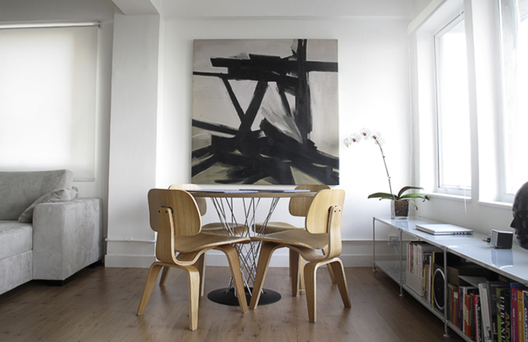 Salas de jantar minimalistas por OneByNine Minimalista