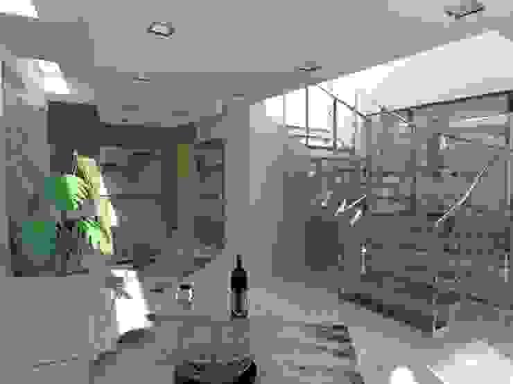 living room studio appalti e grafica Cantina moderna