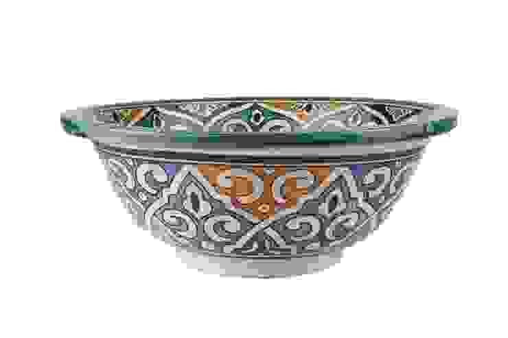 Talia - Designerska umywalka II od Kolory Maroka Egzotyczny