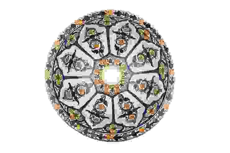 Dilma - Umywalka ceramiczna z Maroka od Kolory Maroka Egzotyczny