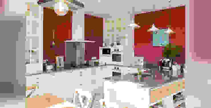 Exemples de realisations Cuisine moderne par sarl Patrimoine & Architecture Moderne