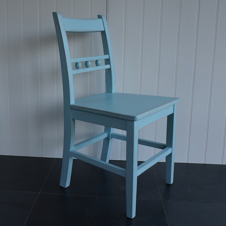 Ball Back Dining Chair: modern  by Rectory Blue, Modern
