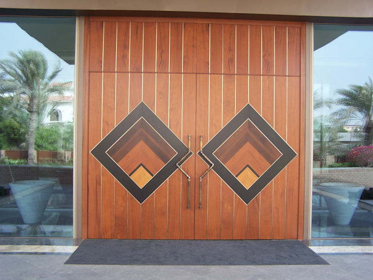 Wooden doors by FPL srl,