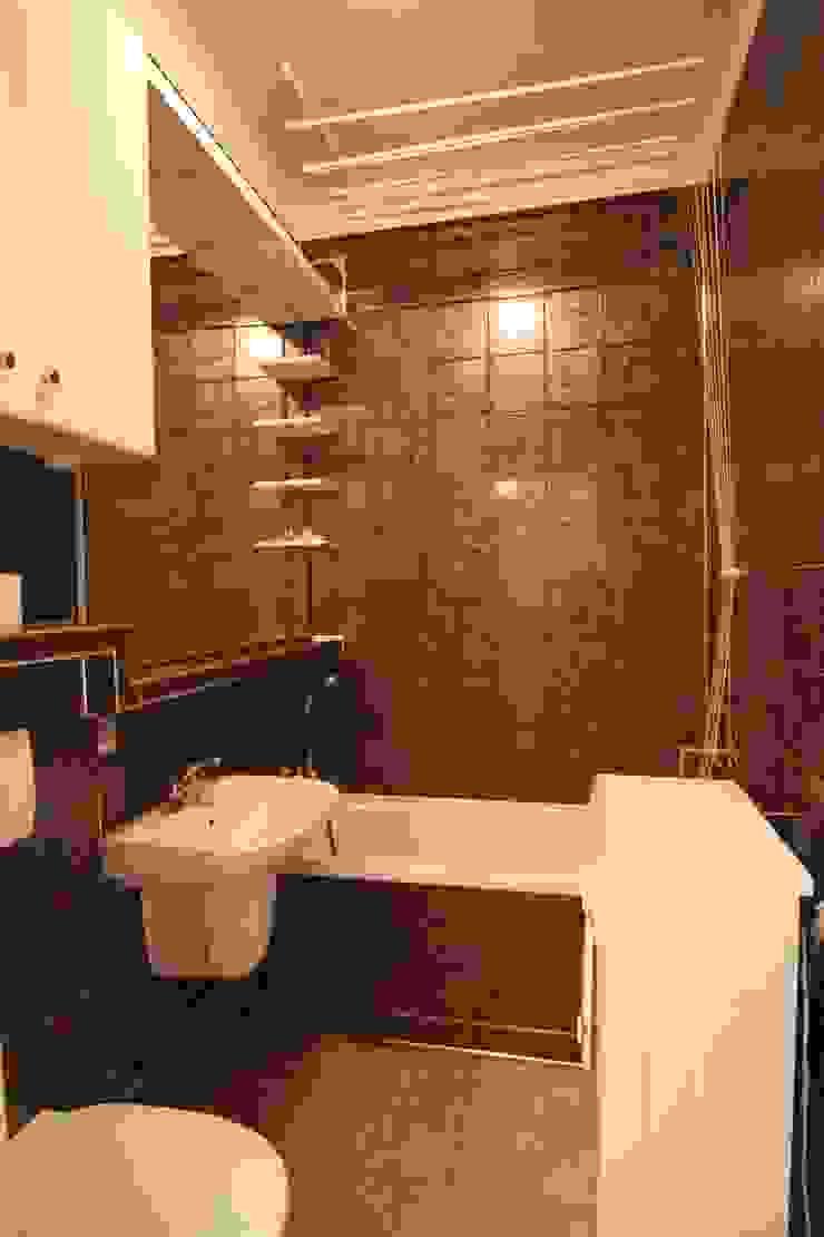 ŁAZIENKA PRZED METAMORFOZĄ od Better Home Interior Design Skandynawski