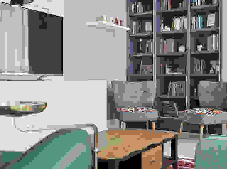 Дизайн гостиной комнаты в Баку Гостиная в классическом стиле от ILKIN GURBANOV Studio Классический