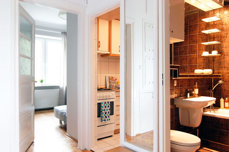 PRZEDPOKÓJ PO METAMORFOZIE od Better Home Interior Design Skandynawski