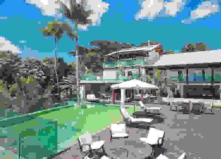 Casa Cacupé I Casas modernas por Mantovani e Rita Arquitetura Moderno