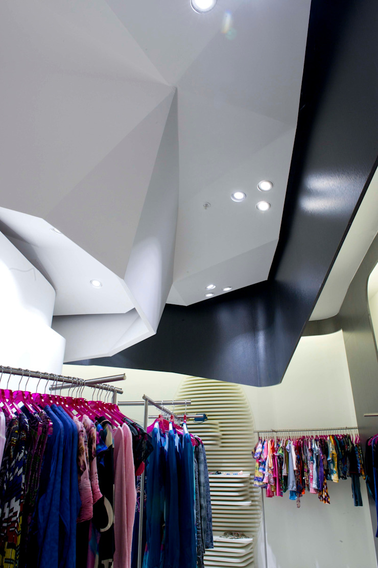 Custo Barcelona opens UK store in Westfield Stratford City Modern offices & stores by Dear Design Modern