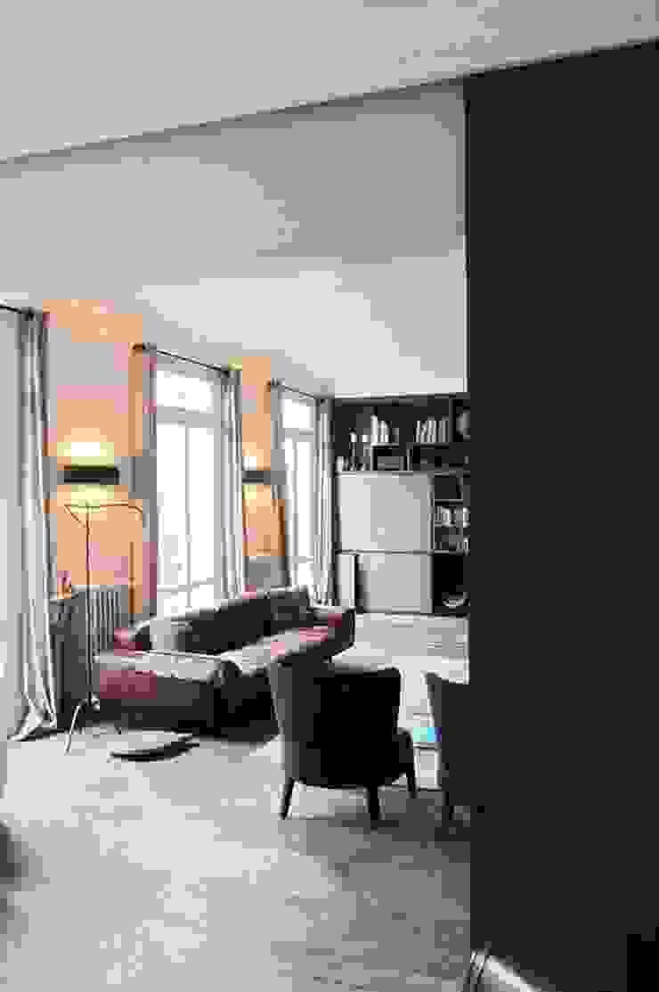 Modern Oturma Odası Roque Intérieurs Modern