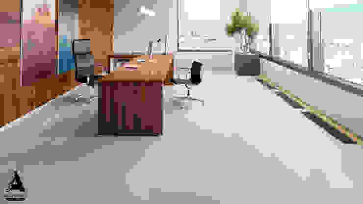 Визуализация коммерческой недвижимости Рабочий кабинет в стиле модерн от Аrchirost Модерн