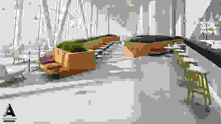 Визуализация коммерческой недвижимости Столовая комната в стиле модерн от Аrchirost Модерн