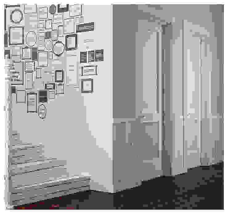 Scandinavian style corridor, hallway& stairs by ILKIN GURBANOV Studio Scandinavian