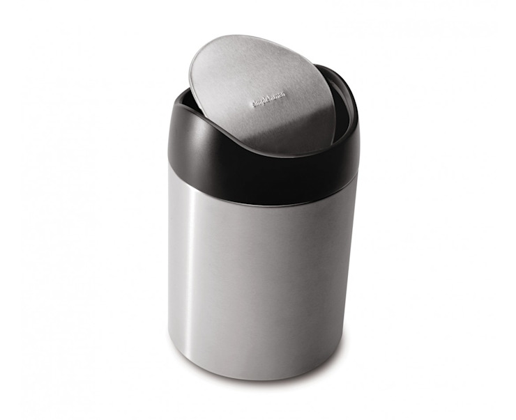 1.5 litre tabletop bin simplehuman HouseholdStorage