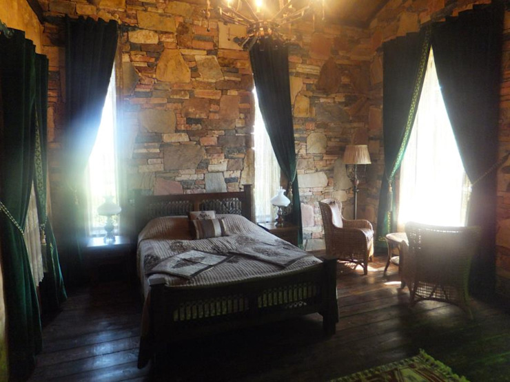 Bedroom by Zeus Tasarım Ltd. Şti., Rustic