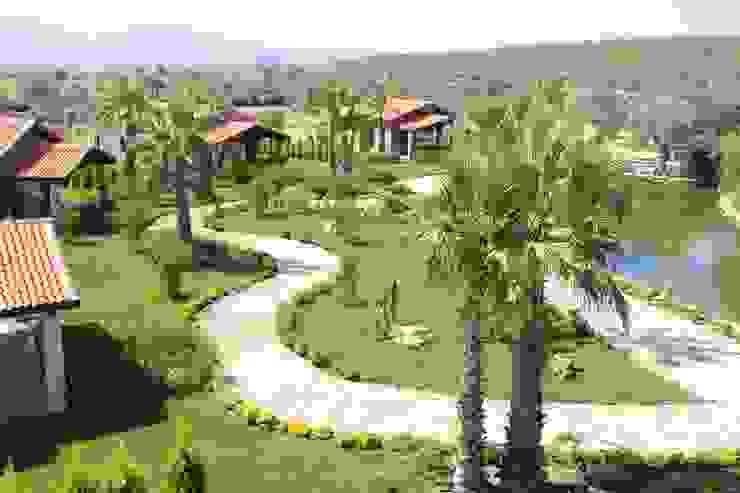 Stonia Modern Bahçe Zeus Tasarım Ltd. Şti. Modern