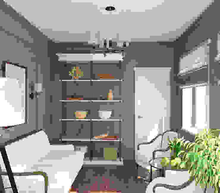 Интерьер комнаты отдыха Зимний сад в классическом стиле от homify Классический