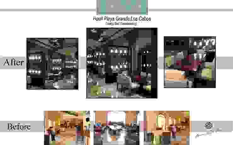 BEFORE & AFTER LOBBY BAR HOTEL PLAYA GRANDE, LOS CABOS BCS, MEXICO de DIAZ DE LUNA SIGNATURE Clásico
