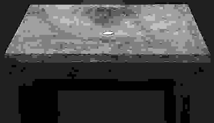 "concrete sink ""Volcanic cream"" от Pietra Danzare Лофт"