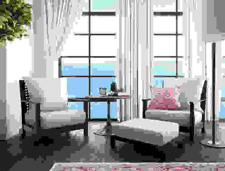 Dormitorios de estilo  por NEUMARK,