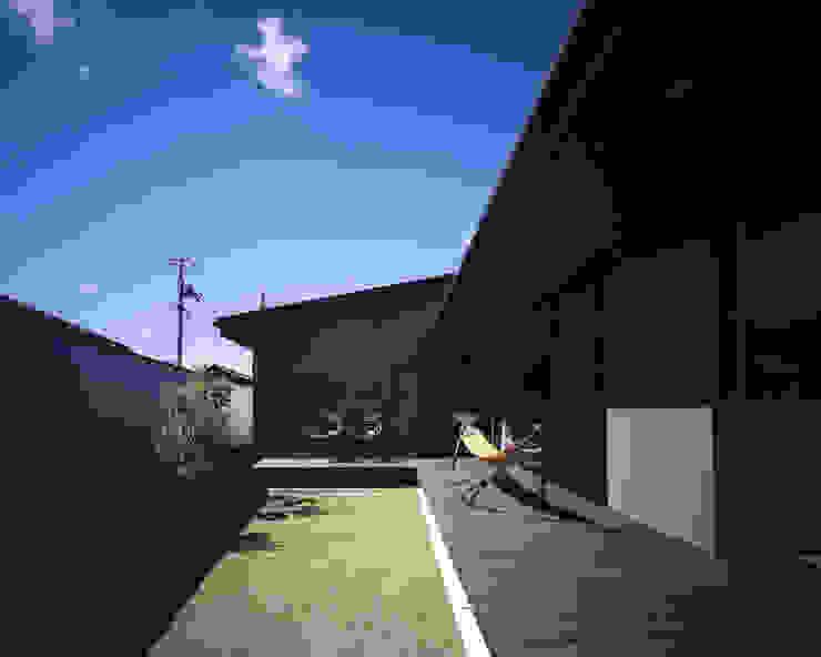 吉備津の家-okayama- モダンな庭 の タカオジュン建築設計事務所-JUNTAKAO.ARCHITECTS- モダン
