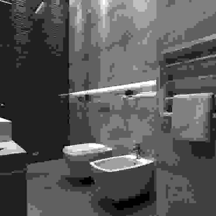 Salle de bains de style  par homify, Scandinave