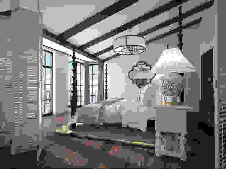 http://neumarkarchitects.com/ru/trogir-croatia1 Спальня в средиземноморском стиле от homify Средиземноморский