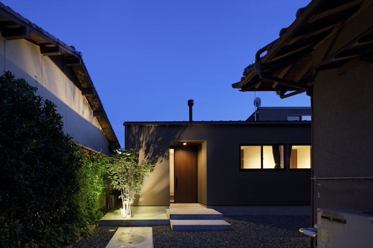 Modern houses by タカオジュン建築設計事務所-JUNTAKAO.ARCHITECTS- Modern