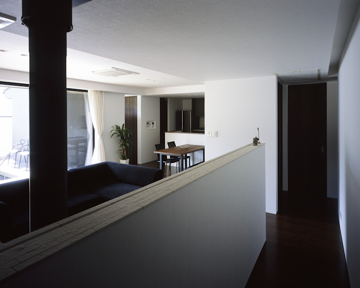 Modern living room by タカオジュン建築設計事務所-JUNTAKAO.ARCHITECTS- Modern