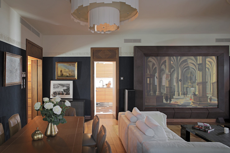 Квартира на Новом Арбаре от Дизайн-бюро ARCHPOINT