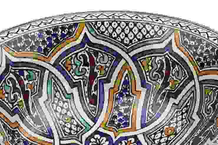 Mikhat - Umywalka ceramiczna z Maroka od Kolory Maroka Egzotyczny