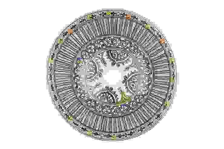 Mariah - Wzorzysta umywalka arabska od Kolory Maroka Egzotyczny