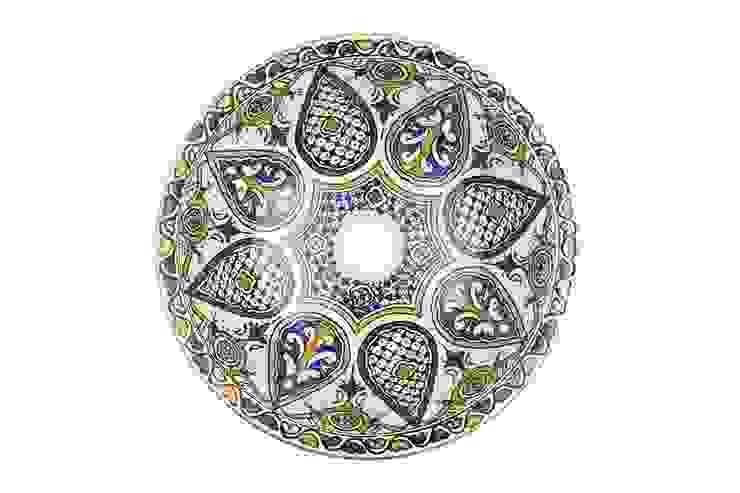 Leila - Kolorowa umywalka ceramiczna z Maroka od Kolory Maroka Egzotyczny