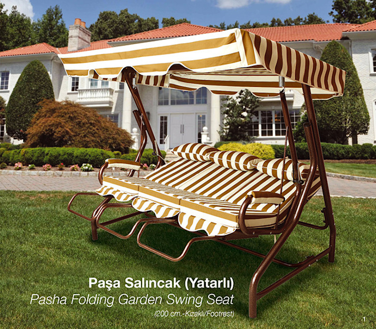 Pasha Garden Swing Seat ERİNÖZ OUTDOOR FURNITURE Garden Swings & play sets