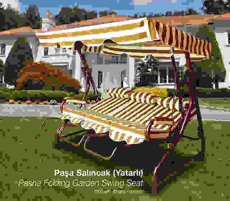 Pasha Garden Swing Seat ERİNÖZ OUTDOOR FURNITURE 花園鞦韆與玩具