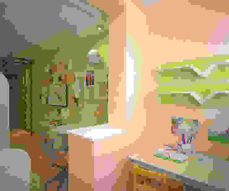 Детская для девочки и мальчика Детская комнатa в стиле минимализм от Студия дизайна Виктории Силаевой Минимализм