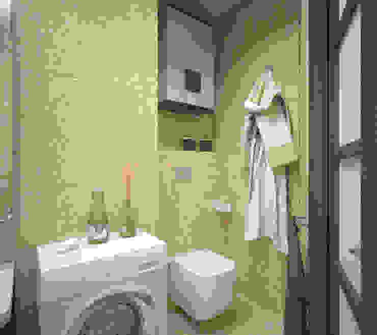 Квартира 65 кв.м. в Серебряных ключах Ванная комната в стиле минимализм от Студия дизайна Виктории Силаевой Минимализм