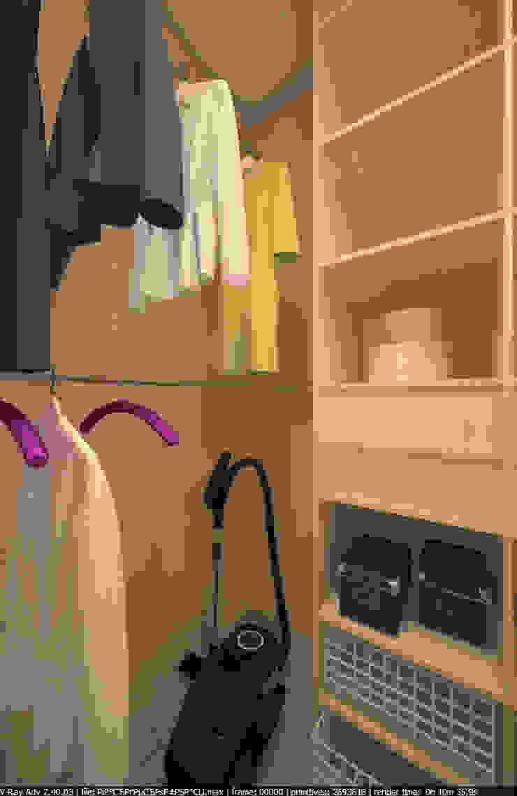 Квартира 65 кв.м. в Серебряных ключах Ванная комната в стиле модерн от Студия дизайна Виктории Силаевой Модерн