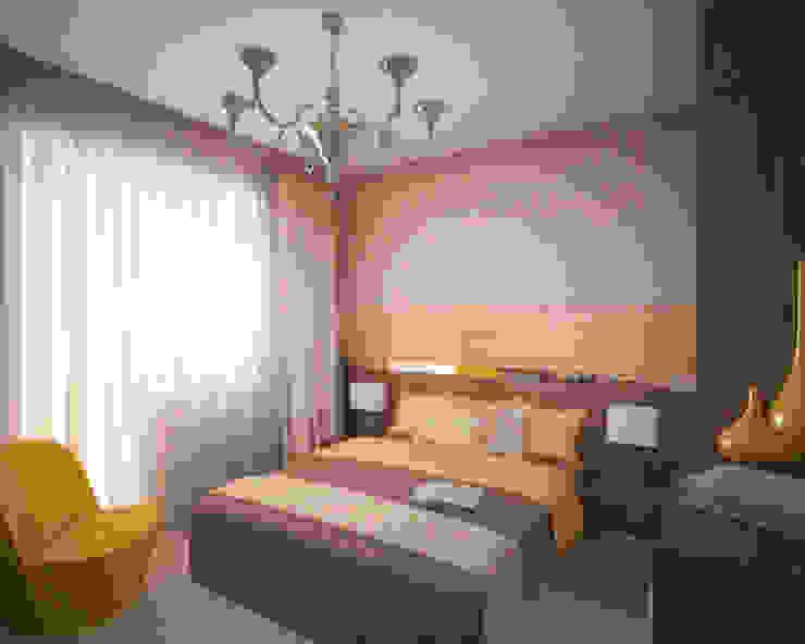 Phòng ngủ phong cách kinh điển bởi Студия дизайна Виктории Силаевой Kinh điển