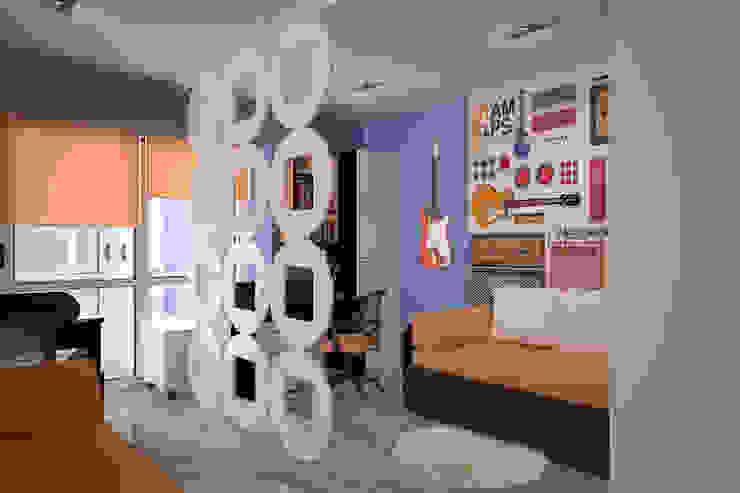 Детская для двух мальчиков: Детские комнаты в . Автор – Студия дизайна Виктории Силаевой