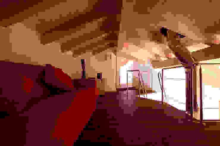 Modern study/office by medeaa Marchetti e De Luca Architetti Associati Modern