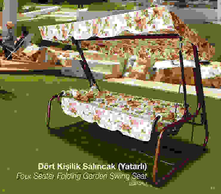 4 Seater Folding Garden Swing Seat ERİNÖZ OUTDOOR FURNITURE 花園家具