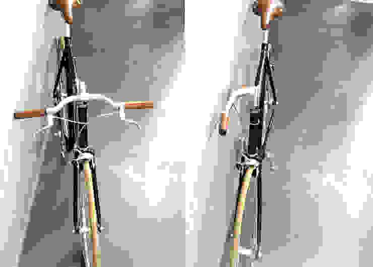 Conçu pour résoudre le problème du rangement d'un vélo dans un endroit restreint et étroit par Deltareference Moderne