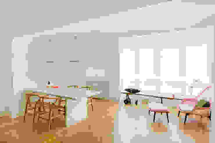 Vivienda zona Quevedo, Madrid nimú equipo de diseño Comedores de estilo moderno