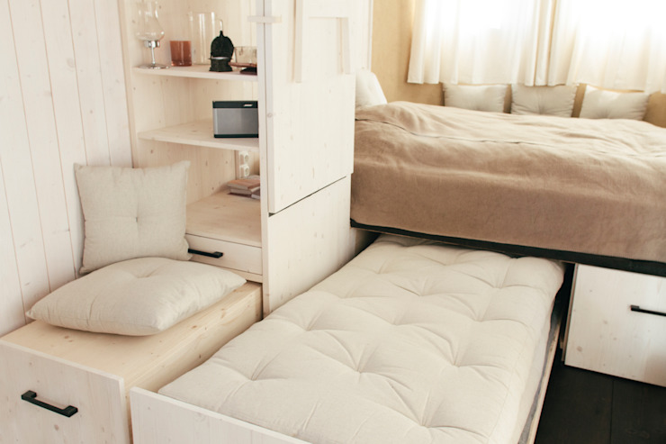 Wohnwagon의  침실
