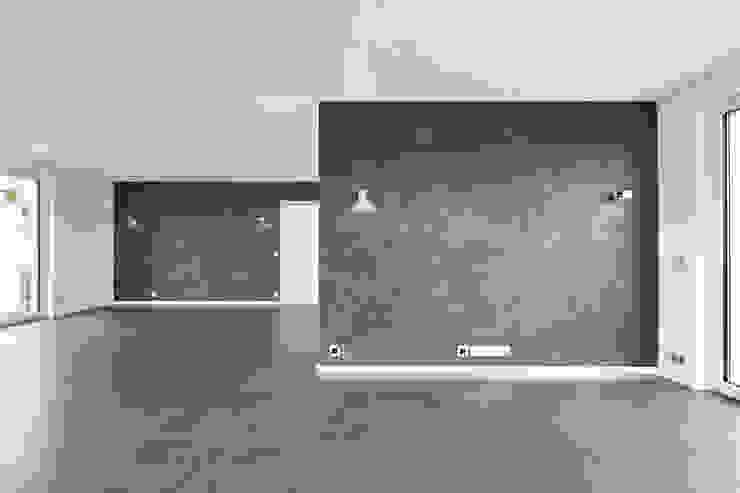 Villa T Moderne Wohnzimmer von Wunderlich Architekten GmbH Modern
