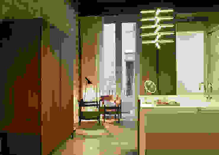 Mercer Hoteles, Barcelona Hoteles de estilo moderno de Tono Bagno Moderno