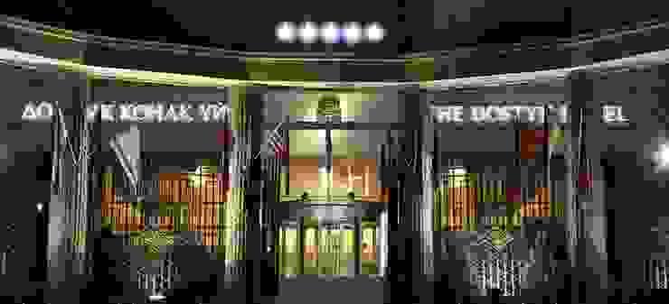 The Dostyk Hotel - Almaty, Kazajistán Espacios comerciales de estilo moderno de Tono Bagno Moderno